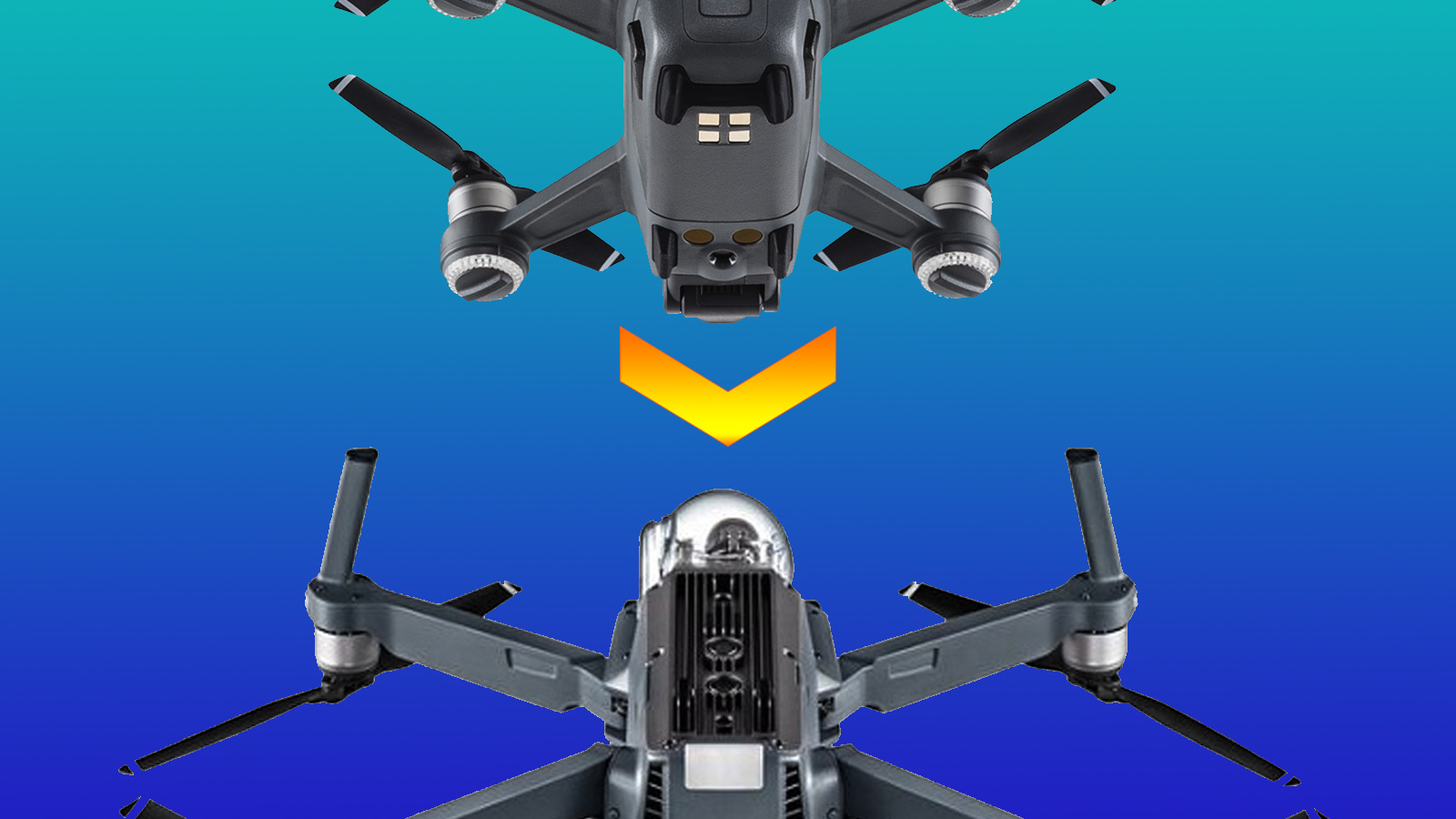 Does DJI launch a Phantom 5 or Mavic 2 with technology from SPARK