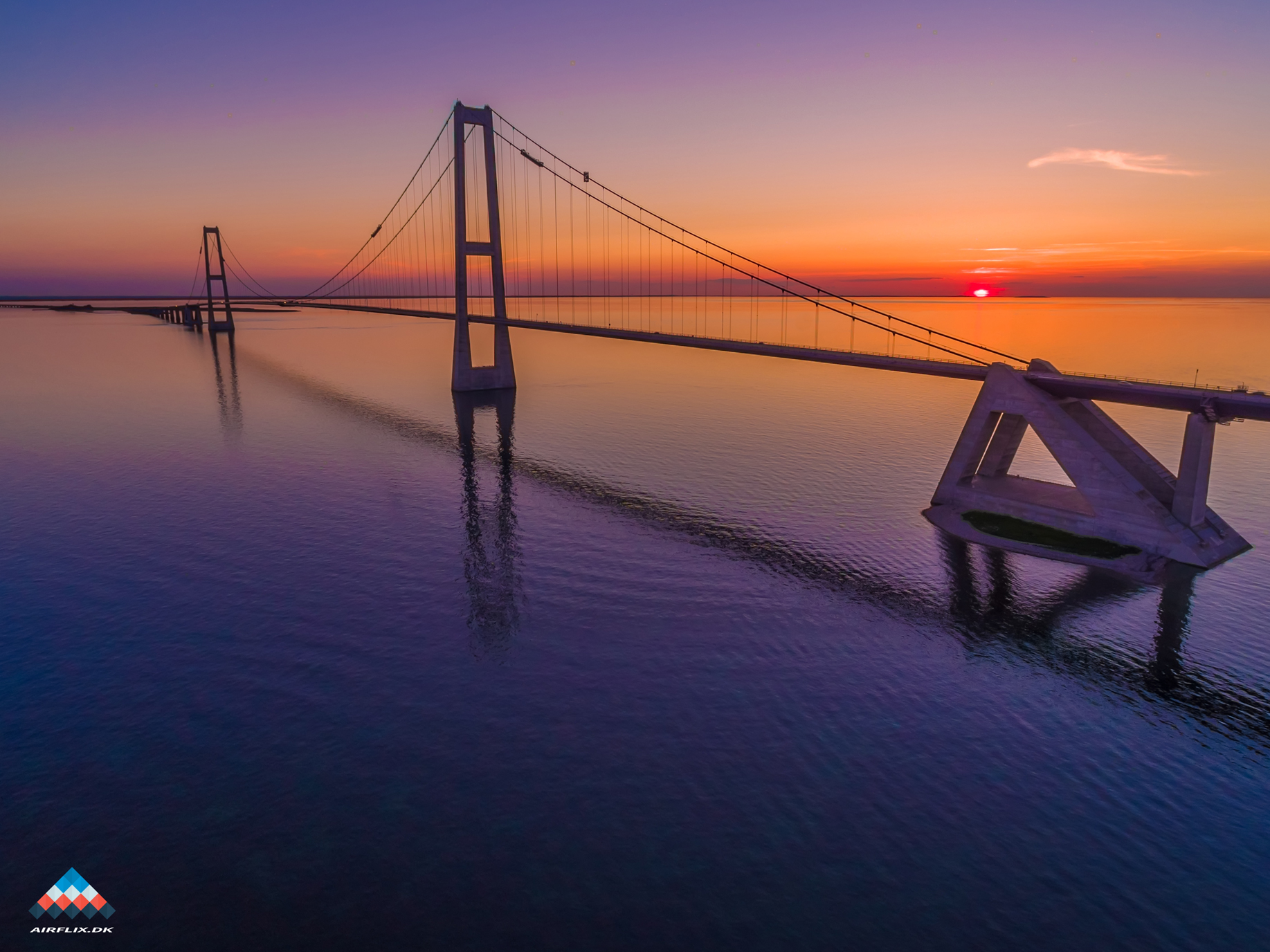 Great-Belt-Bridge-drone-photo