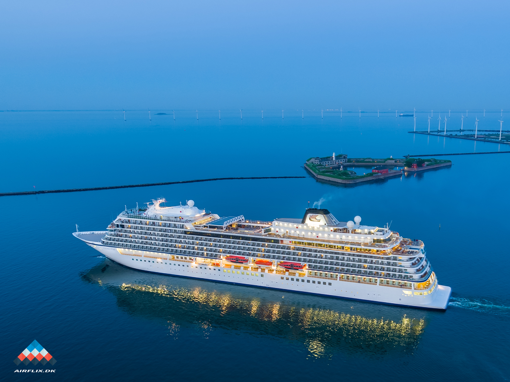 Viking-Cruise-drone