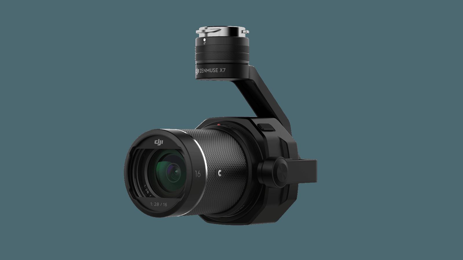 DJI Zenmuse X7 med 16mm og indbygget ND filter