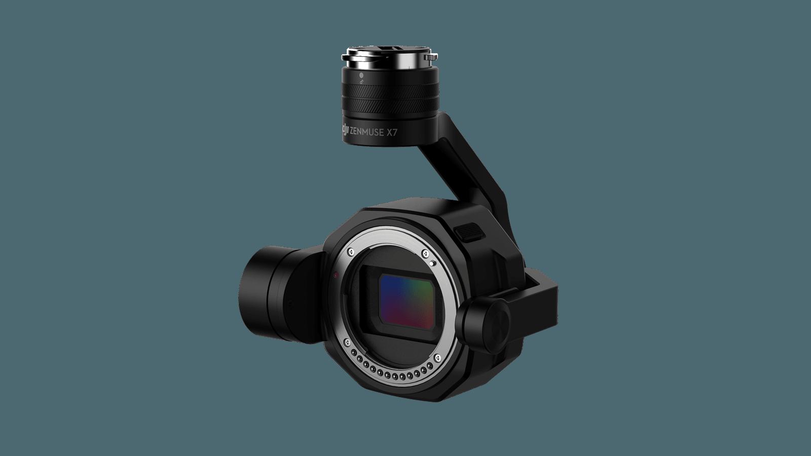 DJI X7 Super 35mm sensor