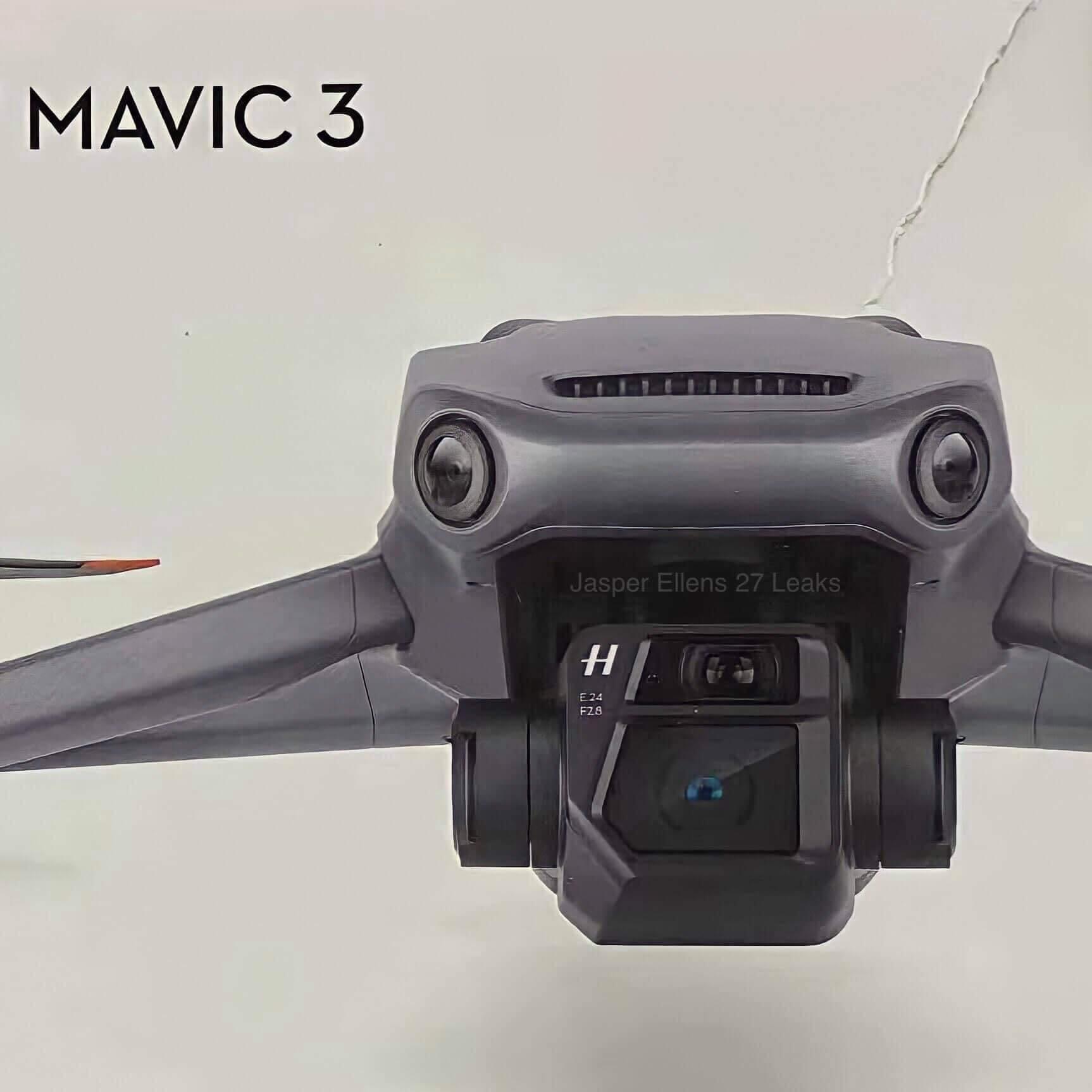 DJI Mavic 3 kameraer